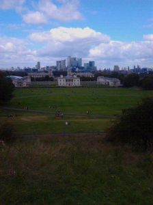 Greenwich Park and the Maritime Museum